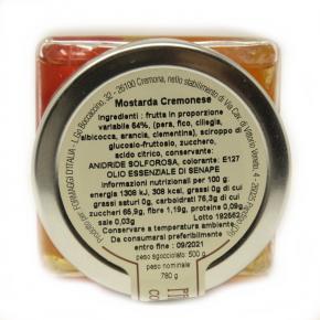 Mostarda Classica Cremonese 7 frutti - Ingredienti