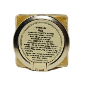 Mostarda di Mele Campanine Ingredienti - Formaggi&Salumi d'Italia