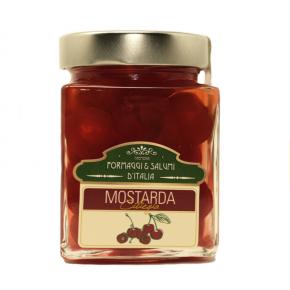 Cherries Mostarda of Cremona - 380 gr.