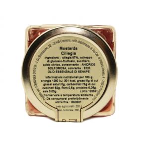 Mostarda di Ciliege Ingredienti - Formaggi&Salumi d'Italia