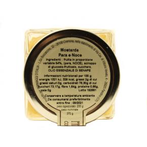 Mostarda di Pere e Noci - Ingredienti