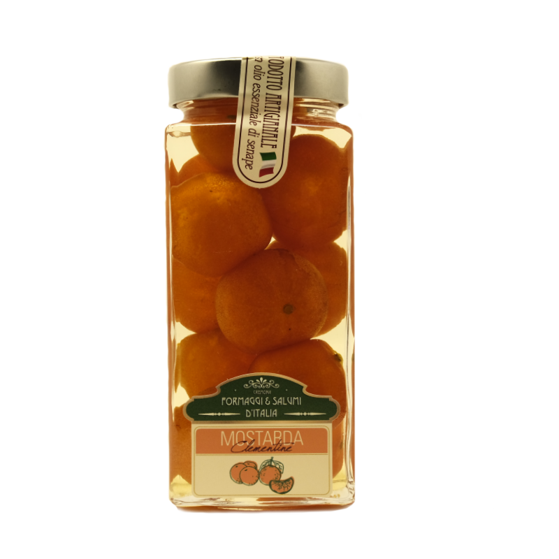 Mostarda di Clementine - Ricetta Cremonese