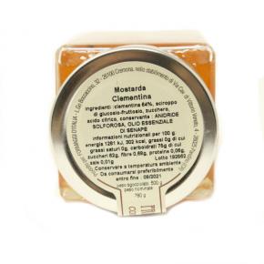 Mostarda di Clementine - Ingredienti