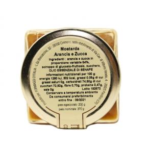 Mostarda di Zucca e Arance - Ingredienti