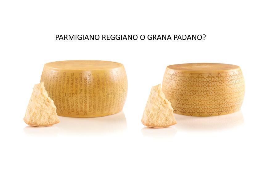 Parmigiano Reggiano o Grana Padano? Ecco come scegliere!
